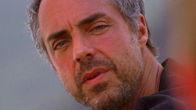 Titus Welliver Man in Black Smoke Monster Lost