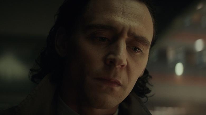 Loki Tom Hiddleston somber