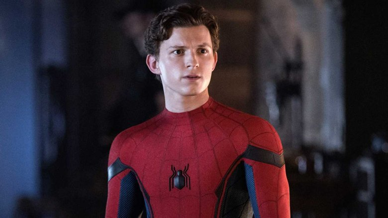 Tom Holland in Spider-Man Far From Home
