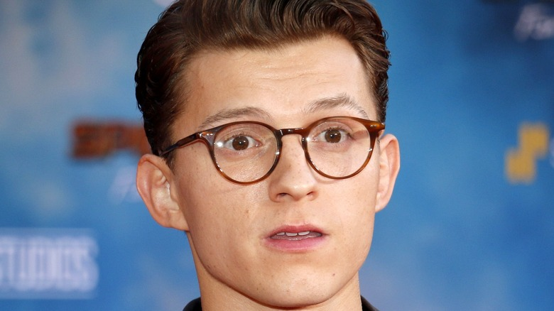 Tom Holland Far From Home red carpet