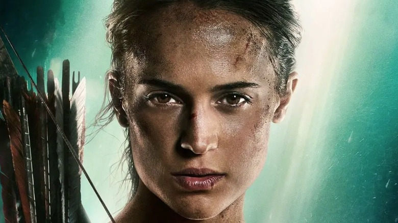 Lara on the poster for the film