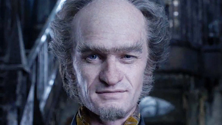 Neil Patrick Harris Count Olaf scowling