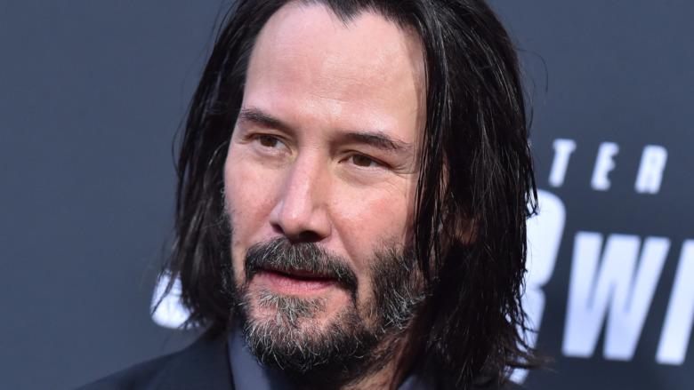 Keanu Reeves with beard