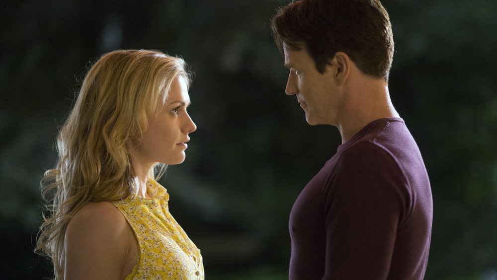 Anna Paquin and Stephen Moyer on True Blood
