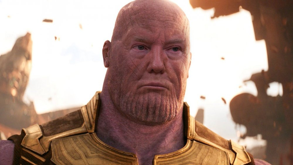 Donald Trump Thanos campaign video