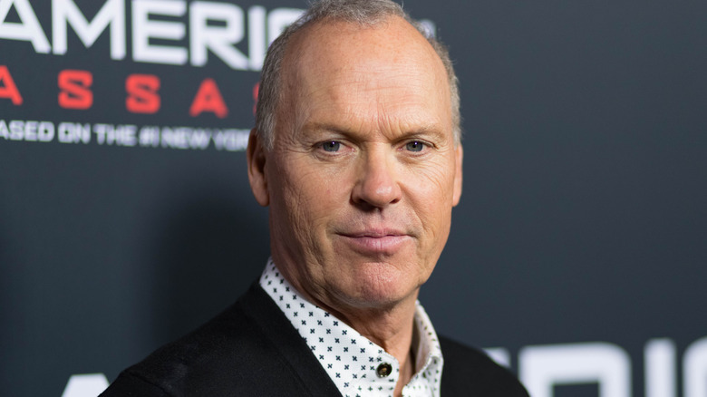 Michael Keaton smiling