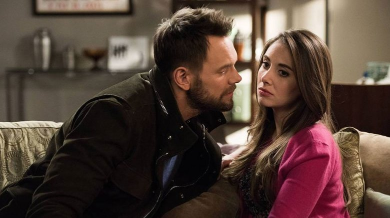 Joel McHale and Alison Brie in Community