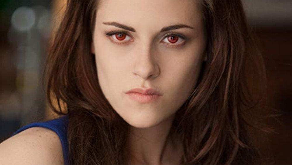 Kristen Stewart as Bella in the Twilight Saga