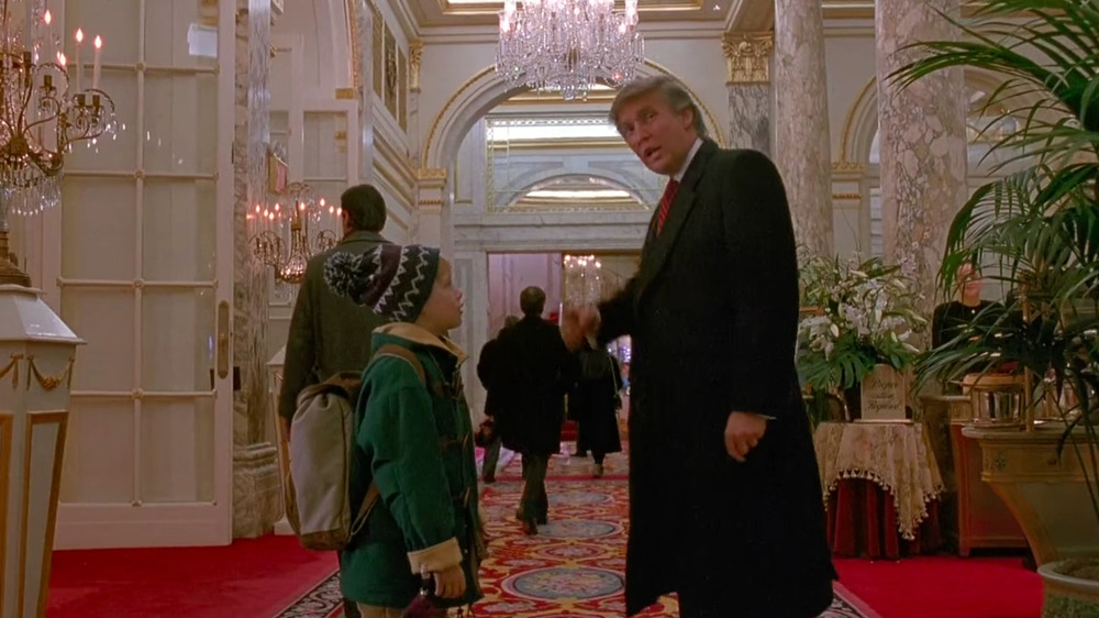 Donald Trump helps Kevin McCallister in Home Alone 2