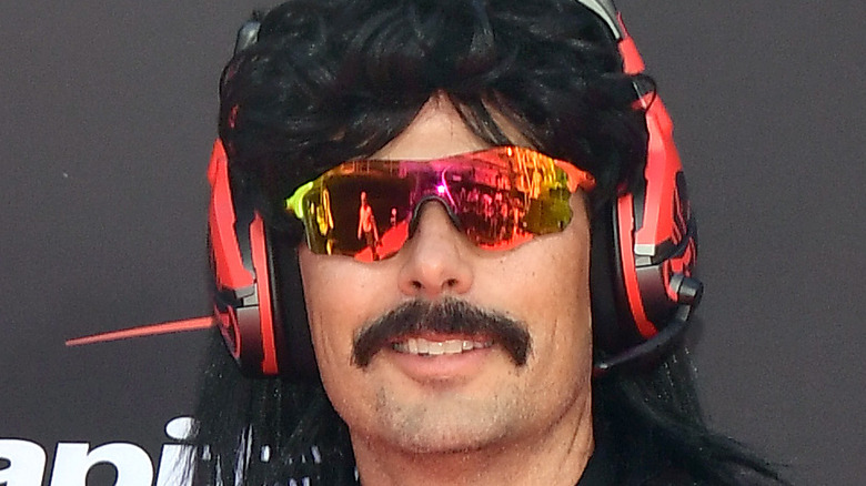 Dr Disrespect red carpet look