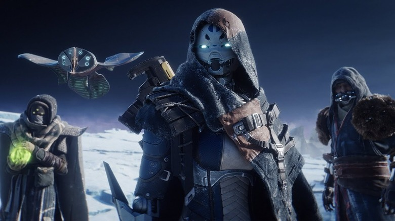 Destiny 2 characters Beyond Light expansion