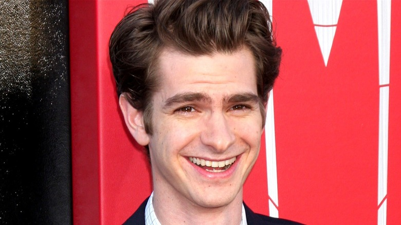 Andrew Garfield at a public event
