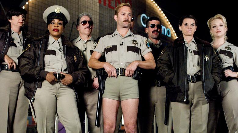 The cast of Reno 911!
