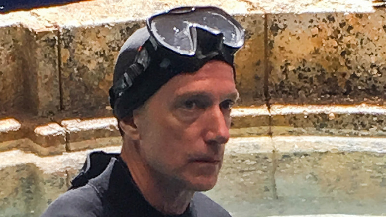 Underwater cinematographer Ian Seabrook Jungle Cruise