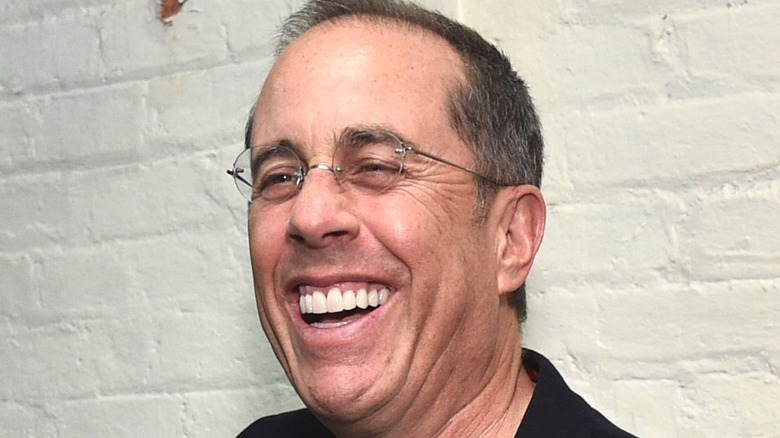 Jerry Seinfeld laughing