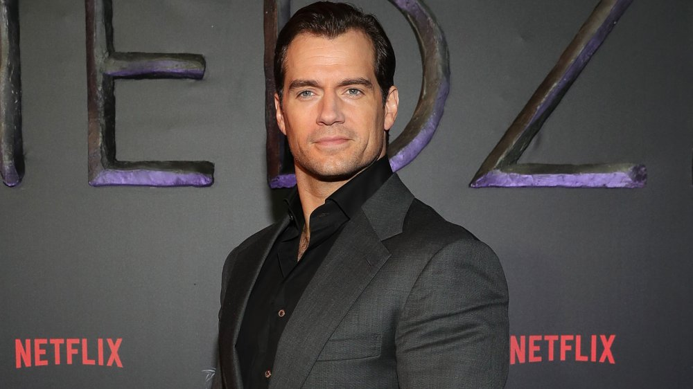 Henry Cavill at a premiere event