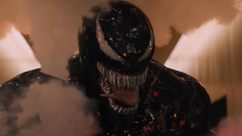 Venom in smoke