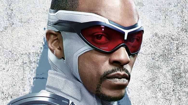 Anthony Mackie Captain America uniform promo art