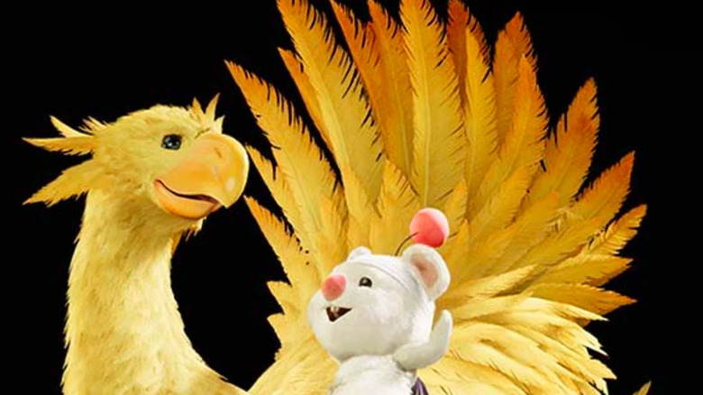 Chocobos from FF7 remake