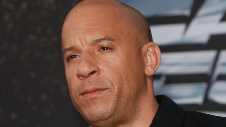 Vin Diesel at the Fast & Furious 6 premiere