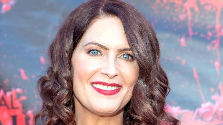 Vanessa Marshall smiling red carpet