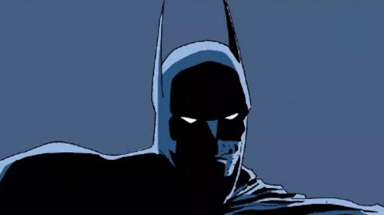 Batman looking tough