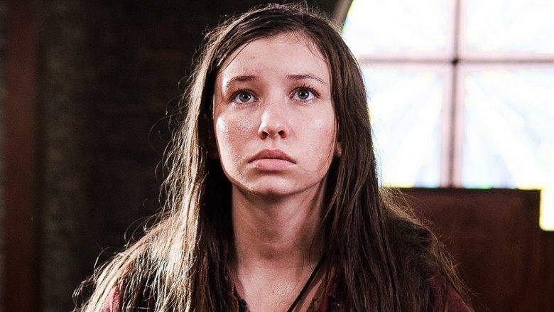Katelyn Nacon as Enid in The Walking Dead