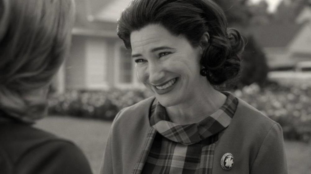 Agnes smiling