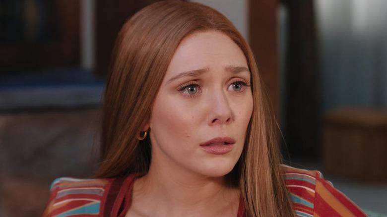 Wanda Maximoff sad
