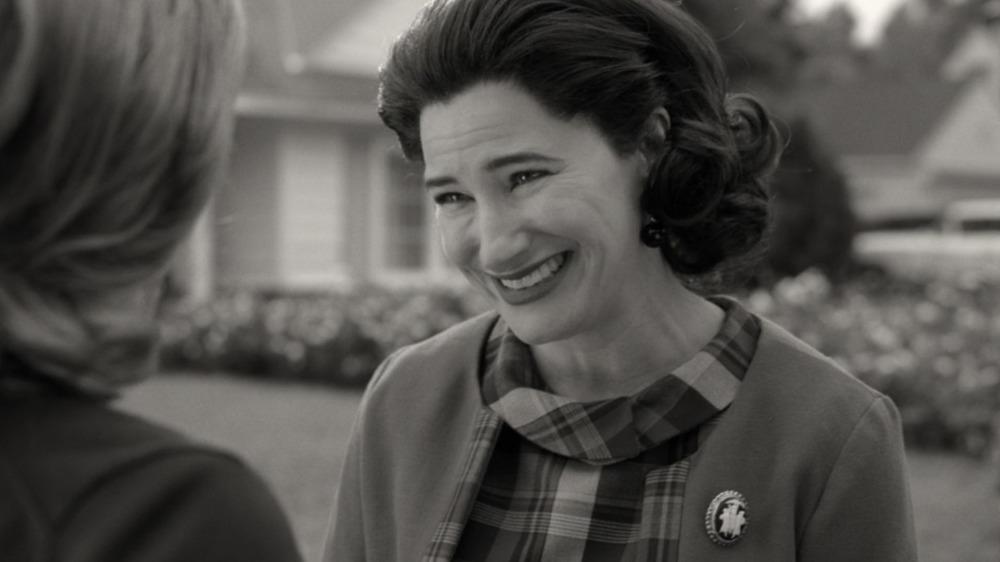Agnes smiling WandaVision
