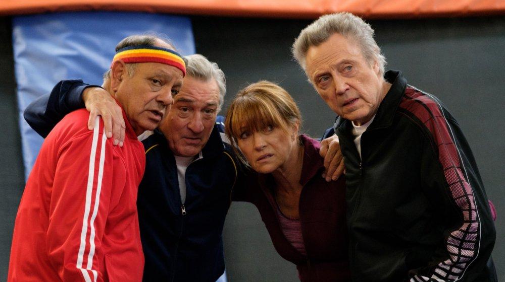 Cheech Marin, Robert De Niro, Jane Seymour, and Christopher Walken in The War with Grandpa