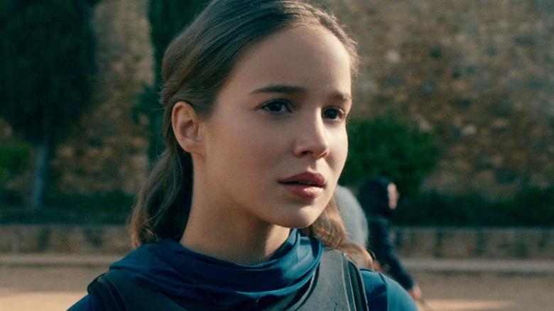Alba Baptista as Ava Silva on Warrior Nun