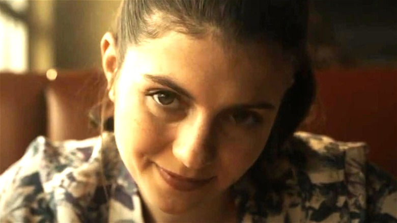 Emily Bader smiling in Paranormal Activity Next of Kin