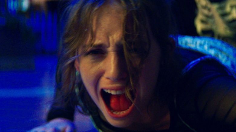 Maya Hawke as Heather in Fear Street Part One: 1994