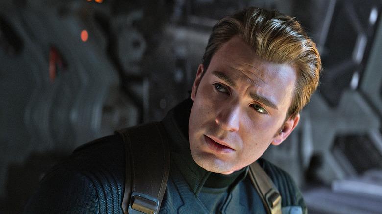 Steve Rogers in Endgame