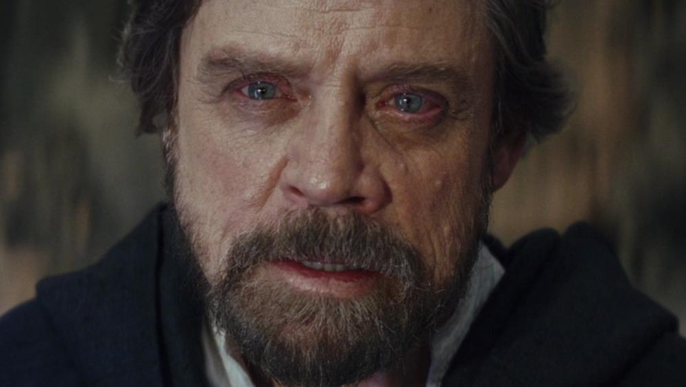 Luke Skywalker looking intense