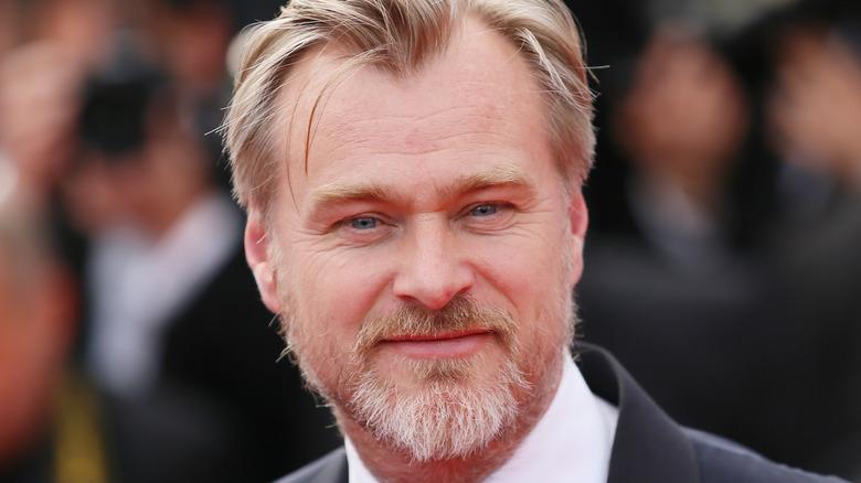 Christopher Nolan smiling