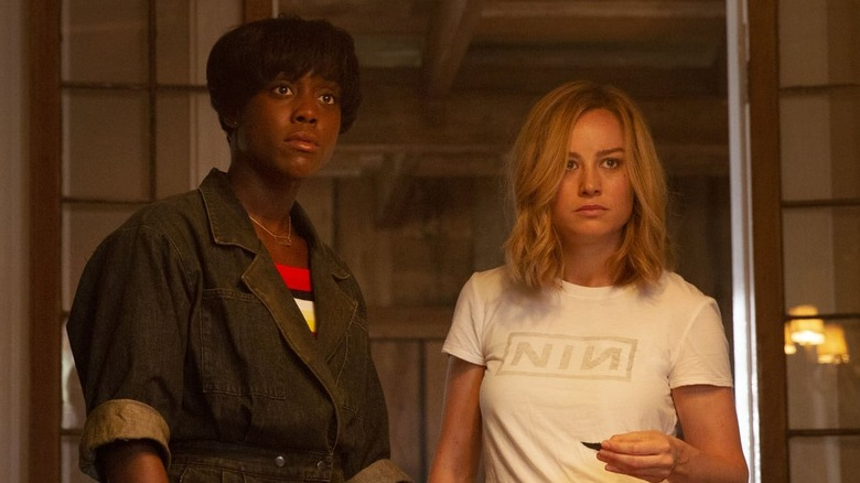 Maria and Carol stand together