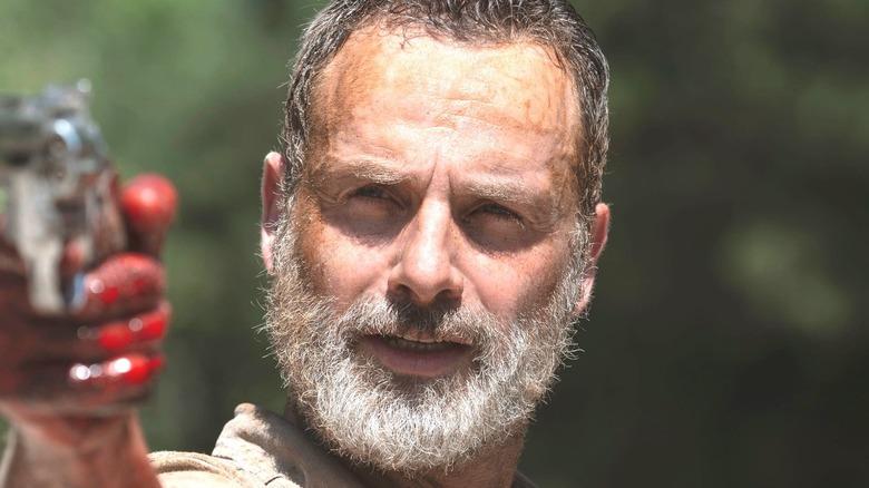 Rick Grimes Blood Gun