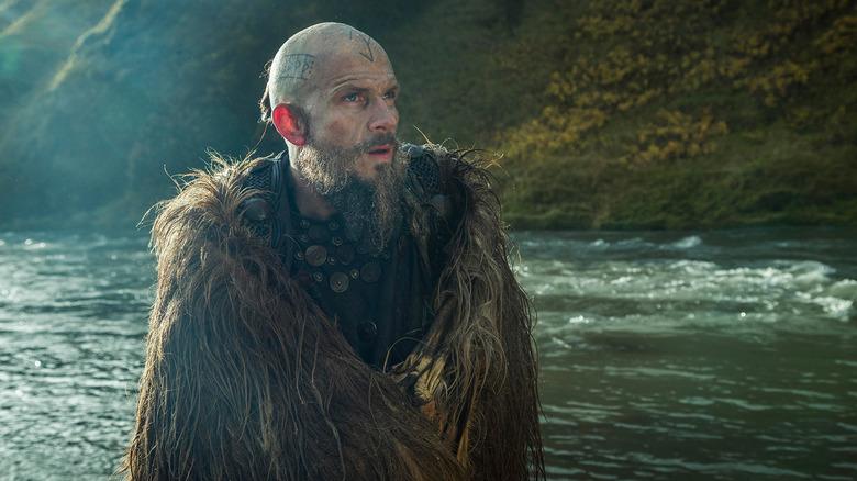 Gustaf Skarsgård as Floki on Vikings