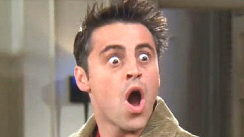 Matt LeBlanc Joey Tribbiani shocked