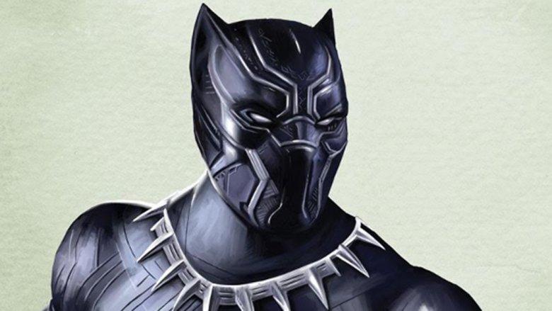 Black Panther fan art poster