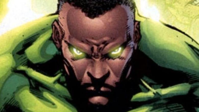 Green Lantern John Stewart charging ring