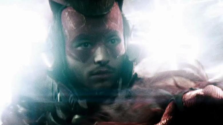 Ezra Miller as The Flash in Batman v Superman: Dawn of Justice