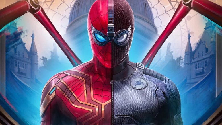 Spider-Man Far From Home split suit