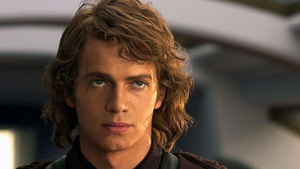 Hayden Christensen as Anakin Skywalker in Star Wars: Episode III -- Revenge of the Sith