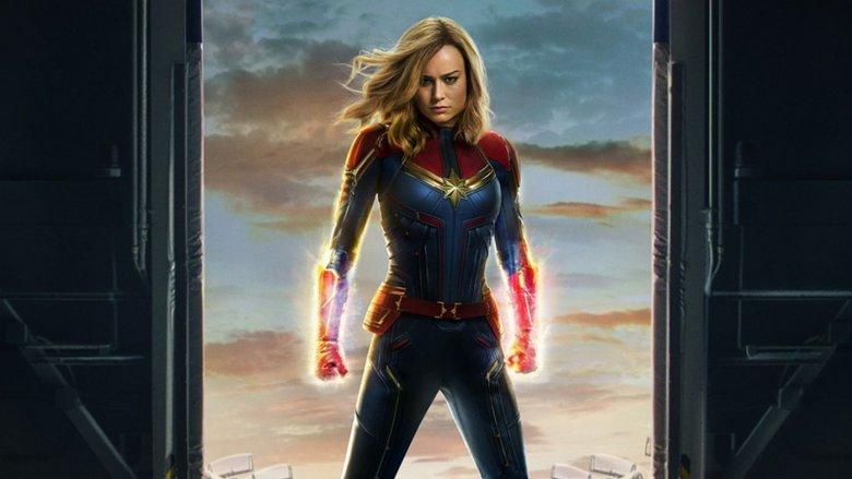 Captain Marvel poster art