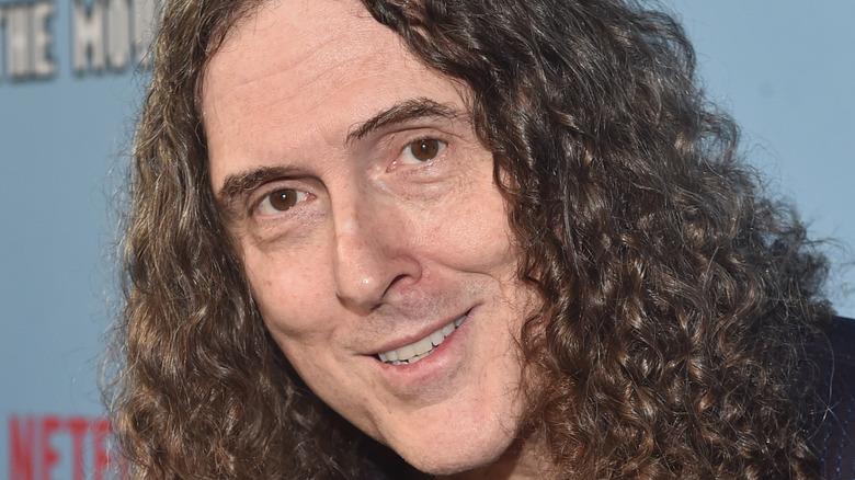 Weird Al smiling at camera