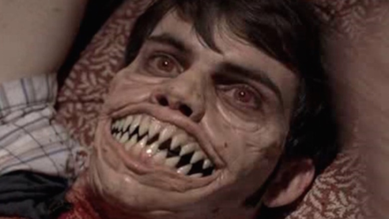 Creepshow 3 distorted face