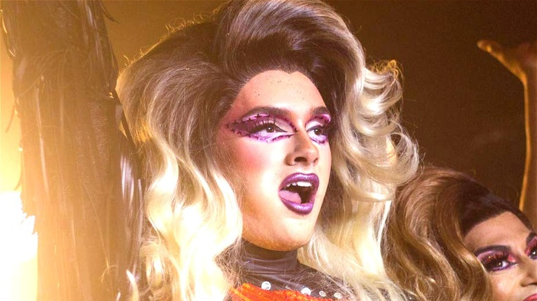 Drag queen performance in We're Here on HBO